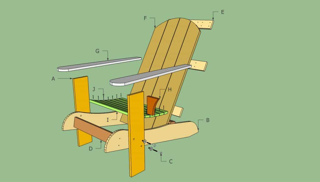 The HowToSpecialist Adirondack Chair