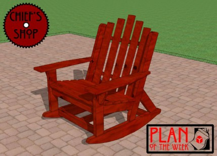 The Adirondack-Style Rocker Chair