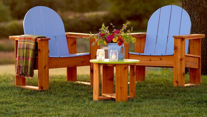 How to Build Adirondack Chairs Easy DIY Plans