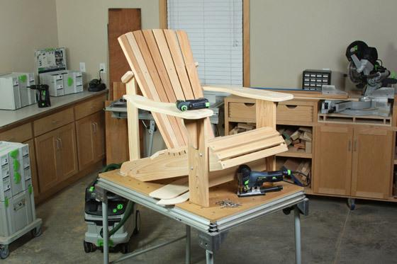 Wood Workers Journal ADIRONDACK CHAIR PLANS