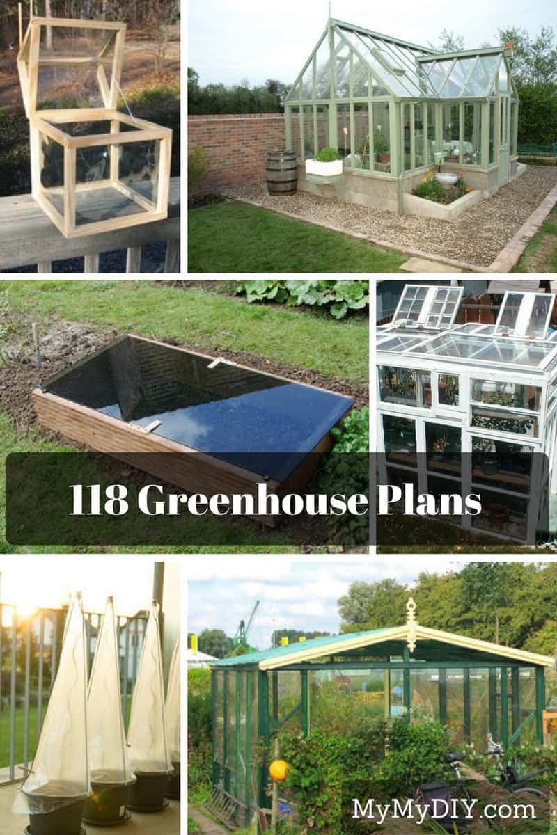 118 Diy Greenhouse Plans Mymydiy Inspiring Diy Projects