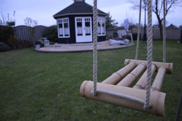 The Bamboo Designed Porch Swing Plan