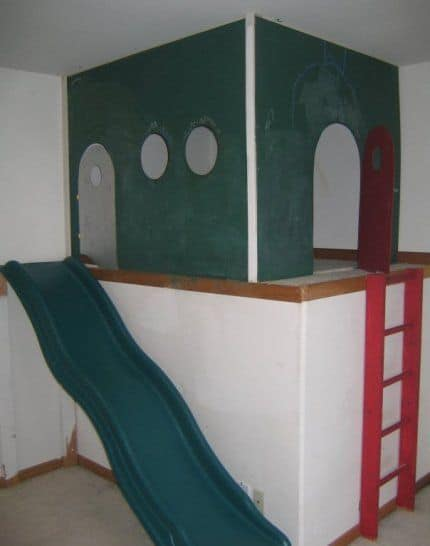 The Cool Indoor Child's Playhouse Plan