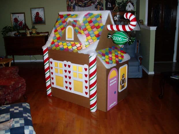 The Gingerbread Candy Playhouse Build