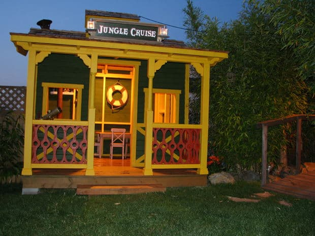 The Jungle Cruise Disney-Inspired Playhouse Design