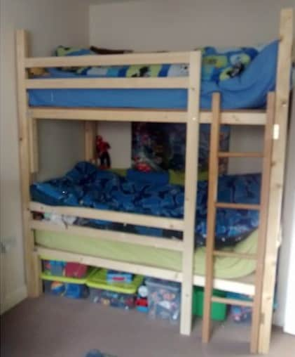 The Small Footprint Bunk Bed Design