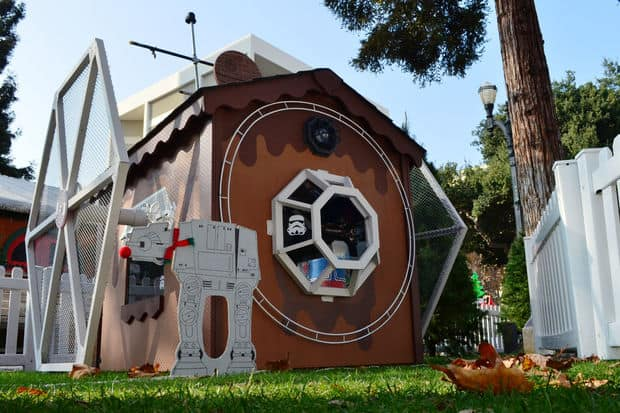 The Star Wars Fighter Playhouse Plan