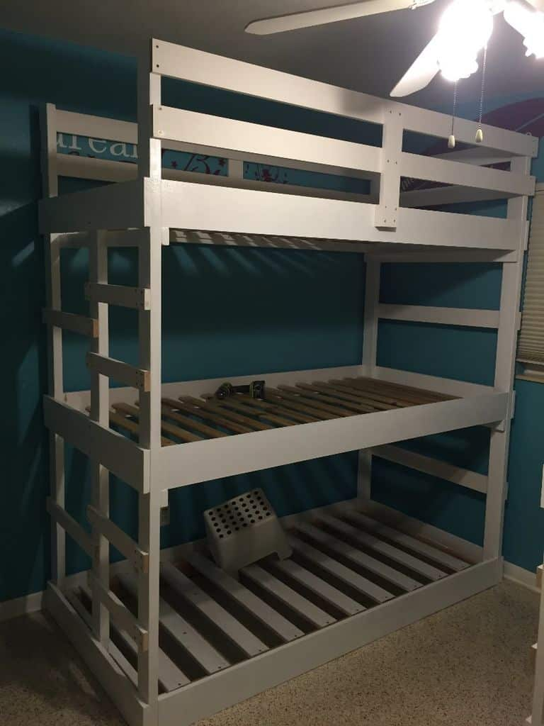 The Triple Decker Fun Bunk Bed Design