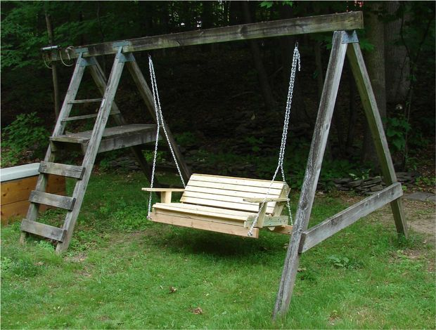 The Upcycled Swingset Plan