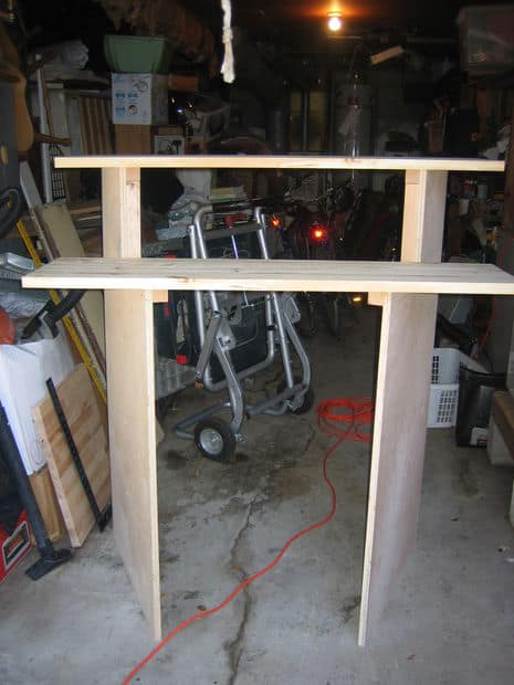 The Affordable Stand Up Desk Build