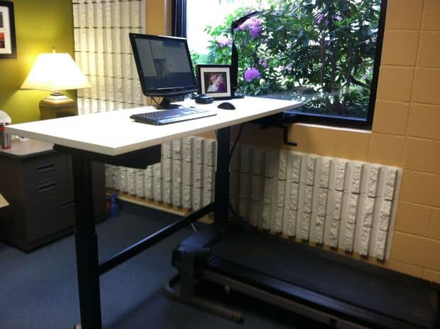 The DIY Standing and Treadmill Desk Project