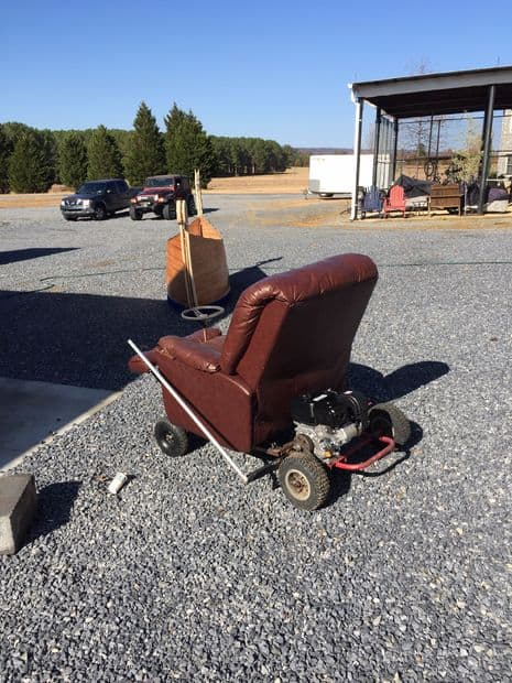 The Leather Recliner Go KartPlan