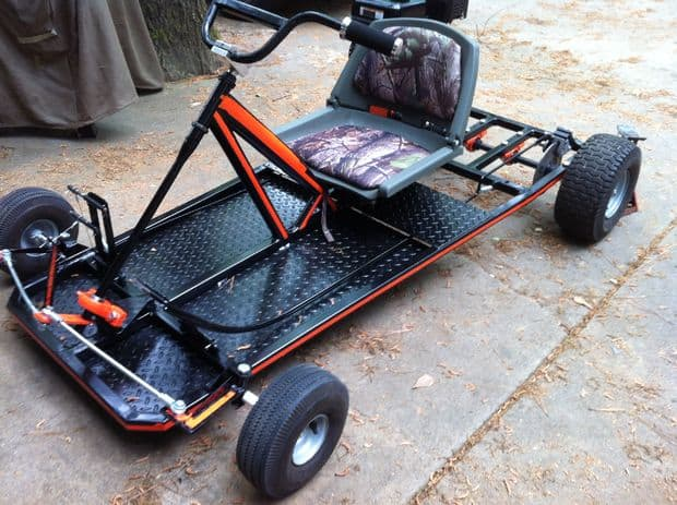 32 awesome diy go kart plans mymydiy inspiring diy for What goes into building a house