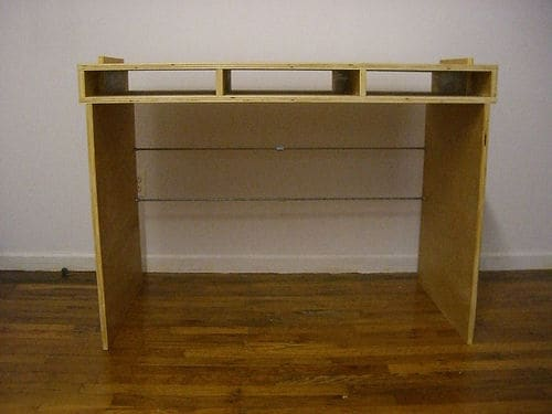 The Pack Flat Plywood Desk Blueprint