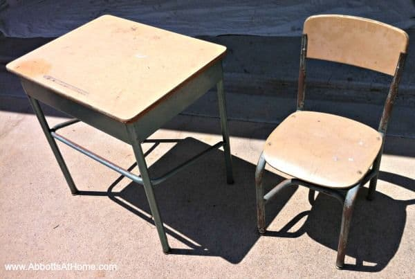 The Upcycled Old School Desk Design
