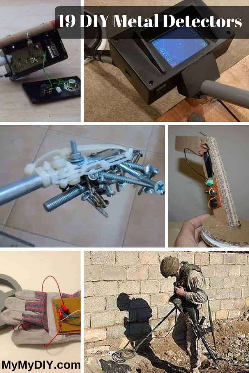 19 Diy Metal Detector Plans Fun Mymydiy Inspiring