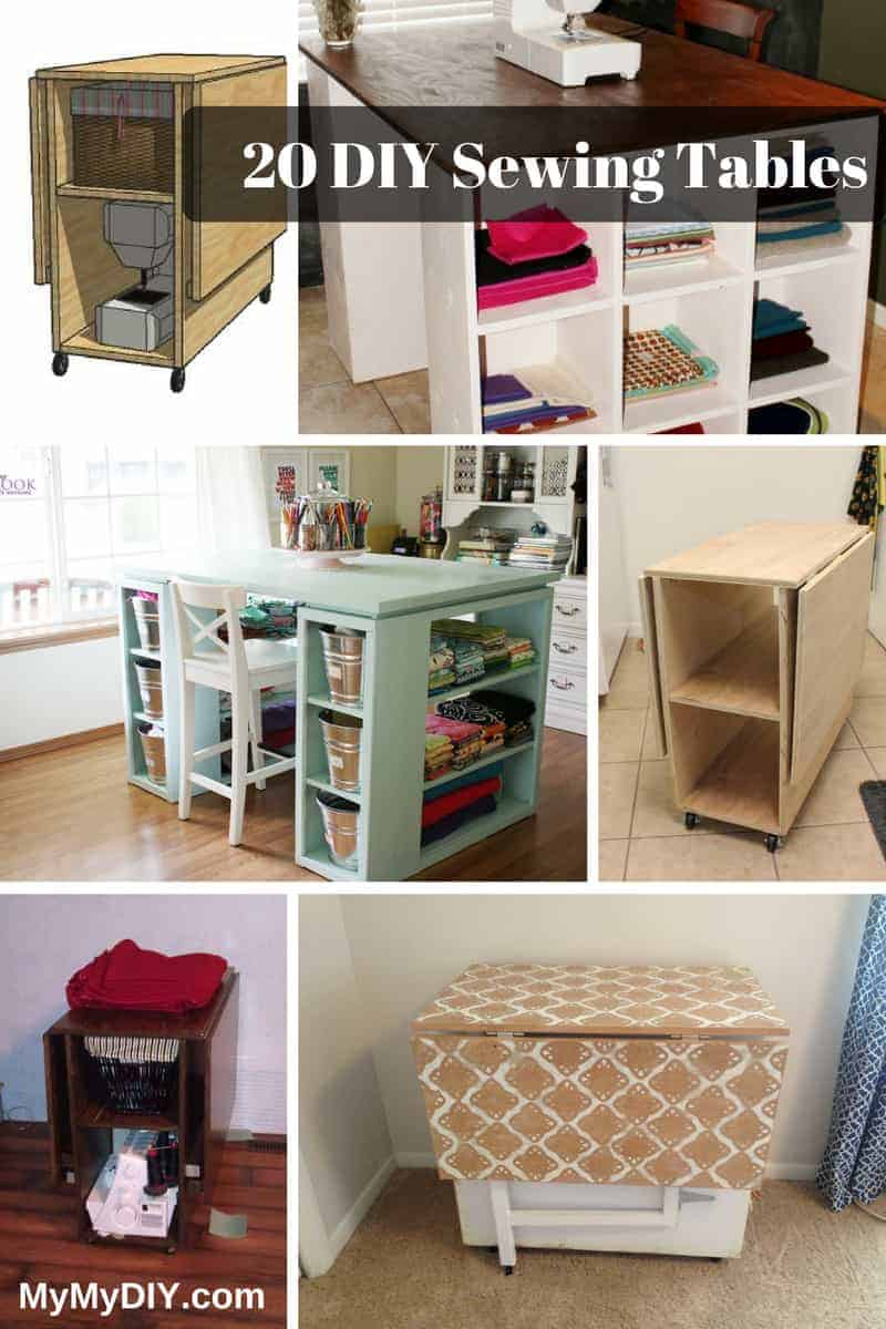 The 20 Best Diy Sewing Table Plans Ranked Mymydiy