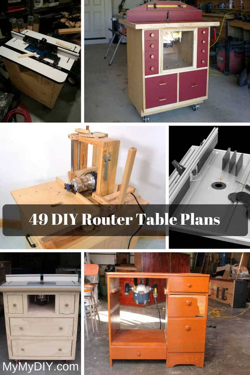 49 Diy Router Table Plans Ranked Mymydiy Inspiring