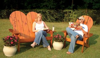 DIY OUTDOOR LAWN FURNITURE