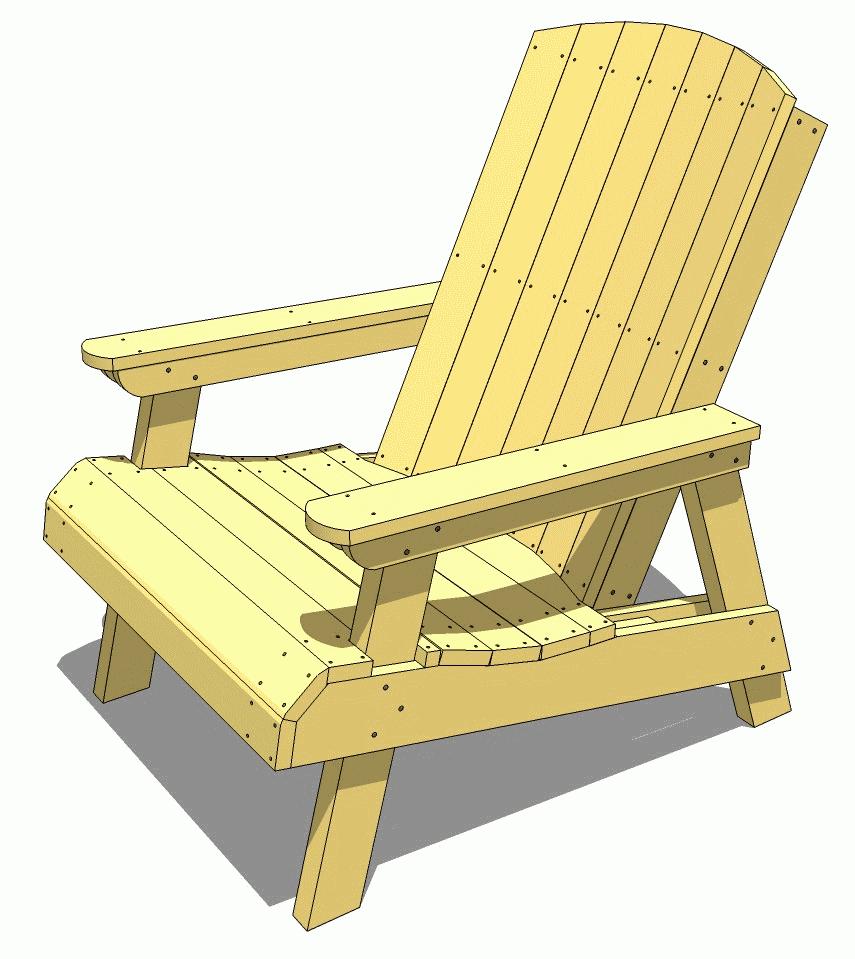 38 Stunning Diy Adirondack Chair Plans Free Mymydiy Inspiring