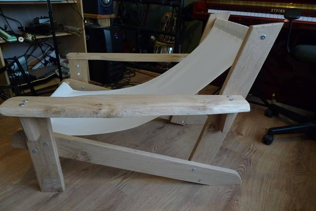 The Canvas Backed Adirondack Deck Chair
