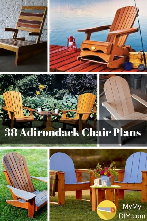 38 Stunning Diy Adirondack Chair Plans Free