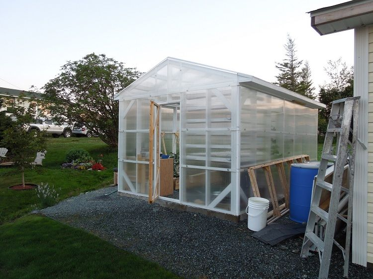 The Automated Networking Climate Controlled Greenhouse Build