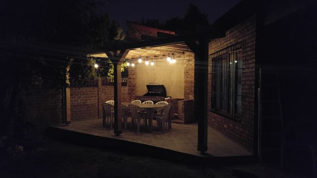 The BBQ Patio Pergola Idea