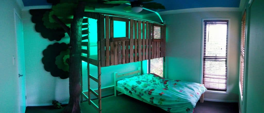 The Boy's Tree House Bunk Bed Build