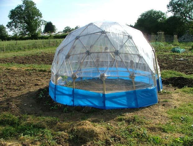 The Cheap Geodetic Greenhouse Plan
