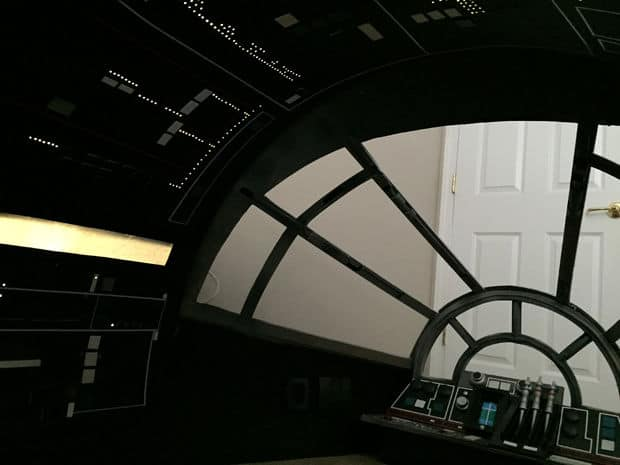 The DIY Star Wars Millennium Falcon Cockpit Playhouse Plan