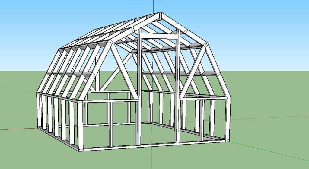 The Extra Solid Greenhouse Plan