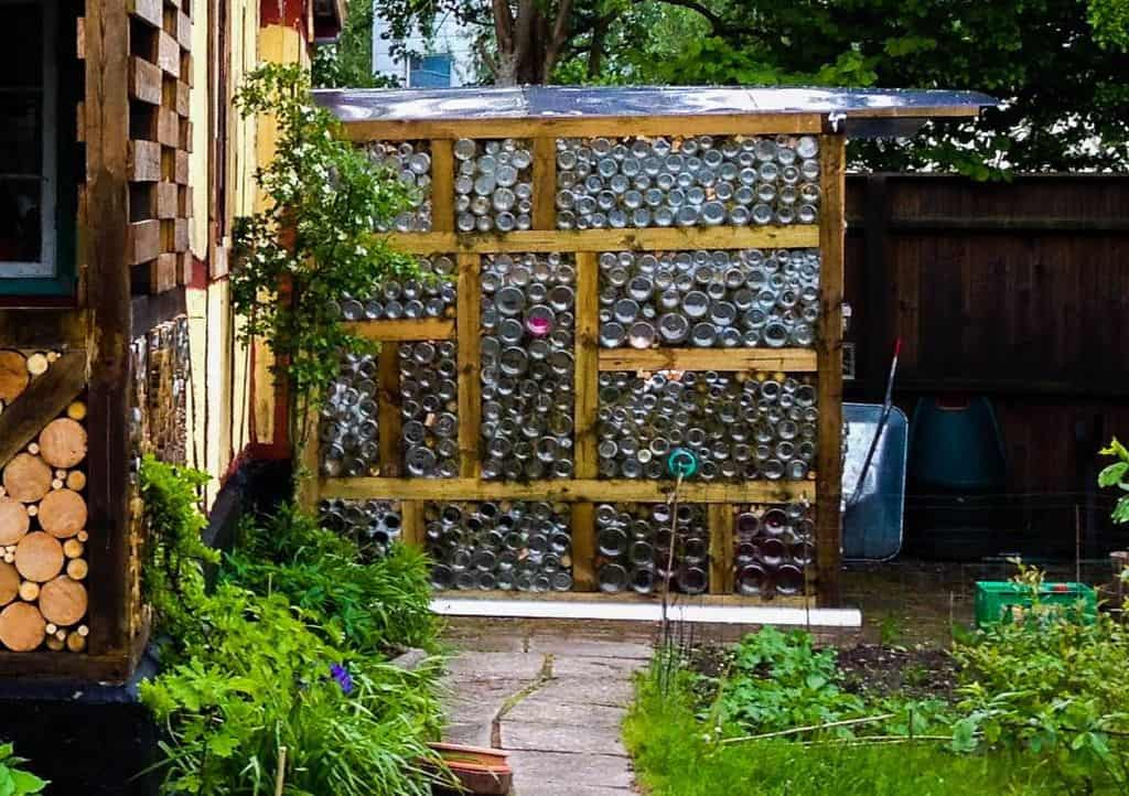 The Free Glass Jar Greenhouse Plan