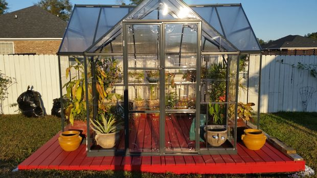 The Garden Chalet Greenhouse Plan