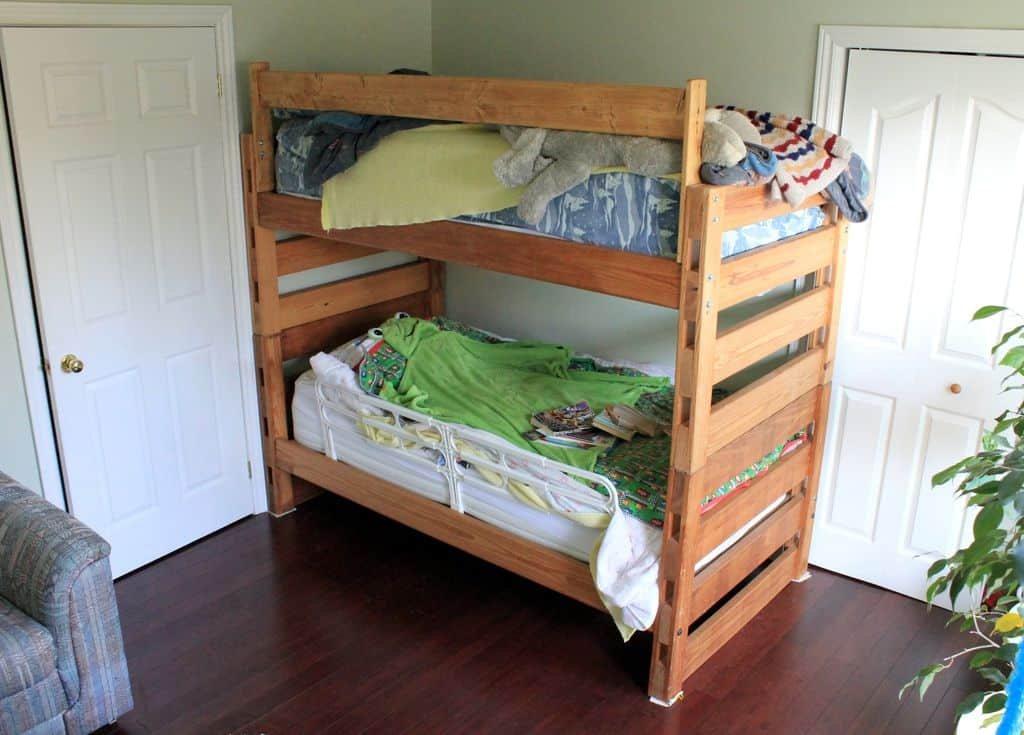 The Modular Pine Bunk Bed Build