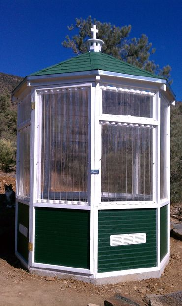 The Octagonal Homemade Greenhouse Design