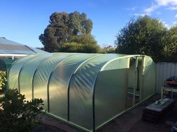 The Poly Pipe Sprinkler System Greenhouse Design