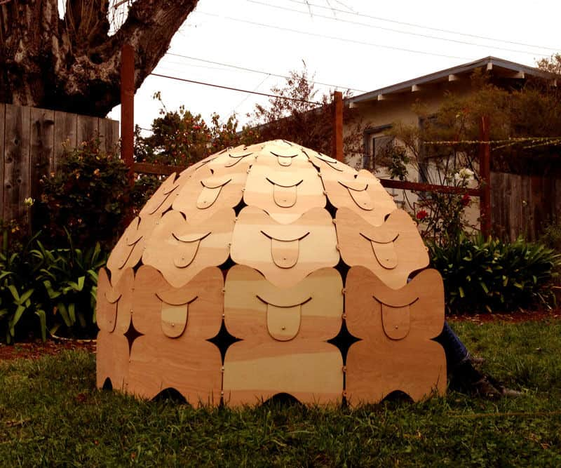 The Portable Prefabicated Domed Igloo Blueprint