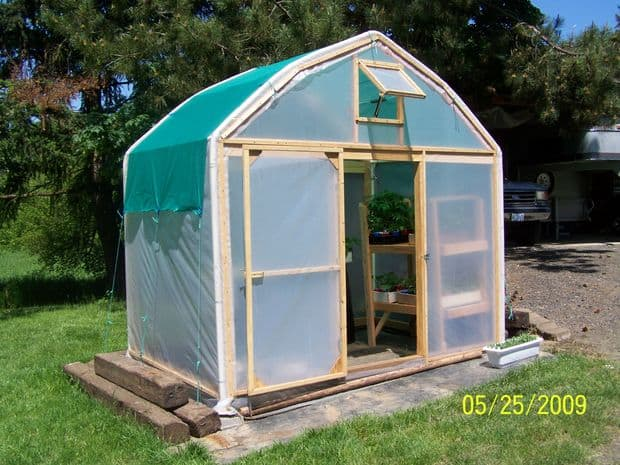 The Recycled Carport Greenhouse Plan