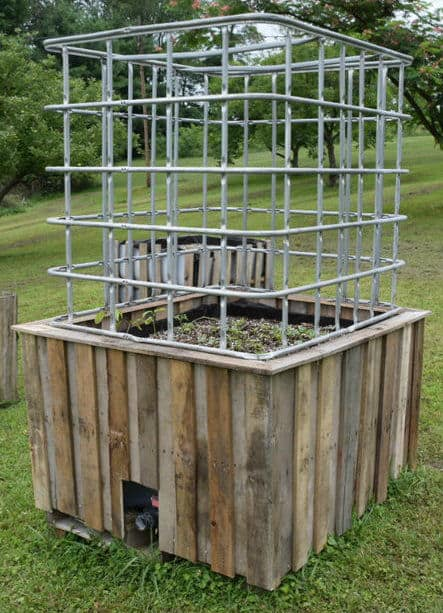 The Recycled Large Self Watering Greenhouse Build