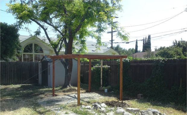 The Redwood Pergola Project Plan