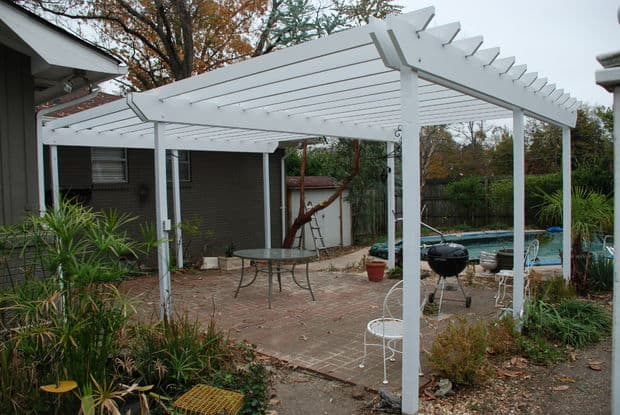 The Rose Garden Pergola Plan