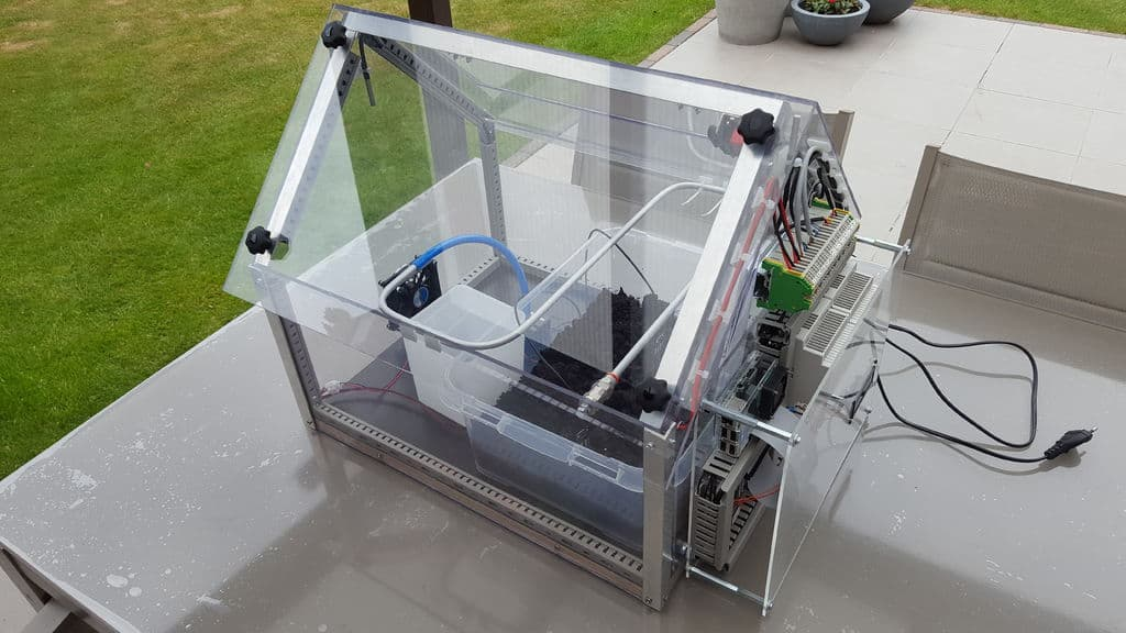 The SerreMatic Automated Homemade Greenhouse Design