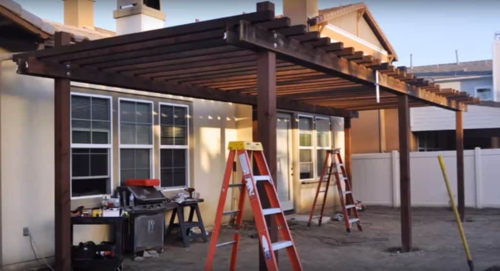 The Simple Backyard Curved Pergola Plan