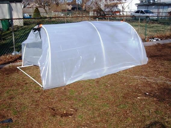 The Simple New England Wood Greenhouse Plan
