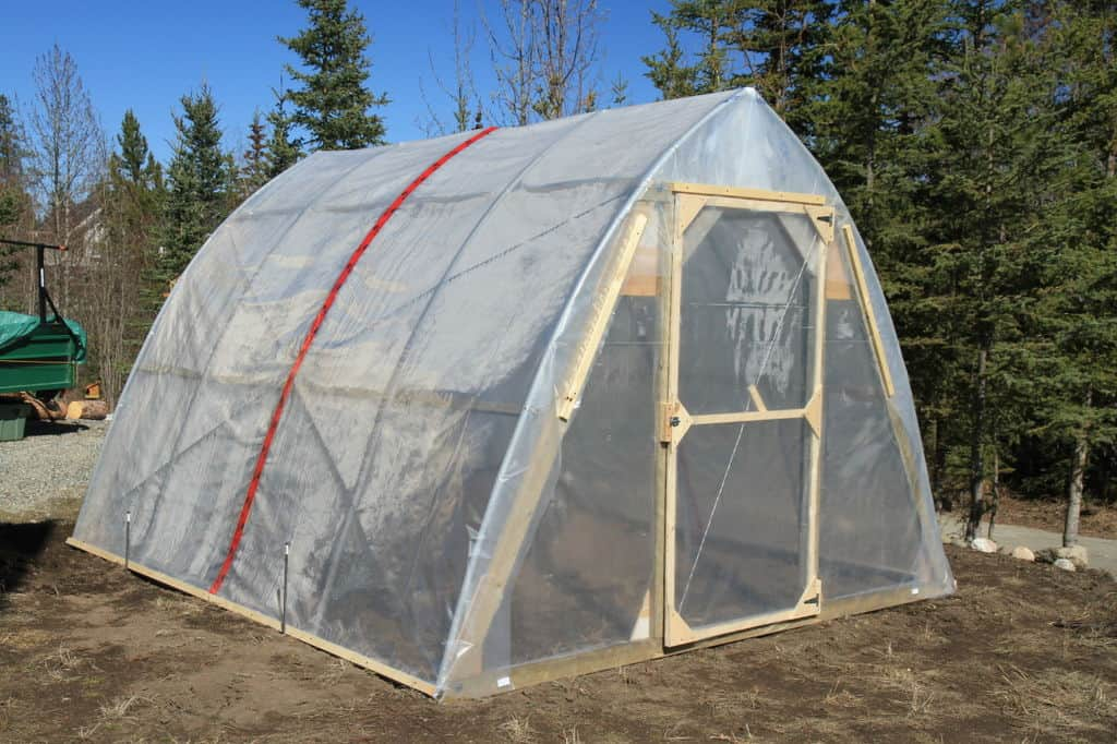 The Snow-Proof Northern Greenhouse Build