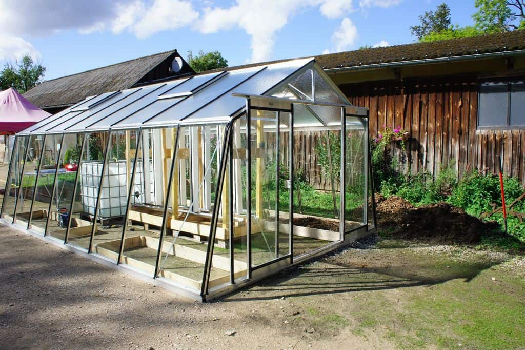 The Spacious Connected Homemade Greenhouse