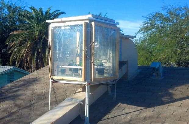 The Swamp Cooler Hydroponic Rooftop Greenhouse Idea