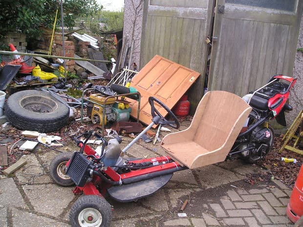 The Converted Power Bike Go KartProject