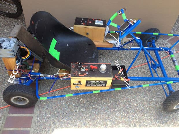 The Electric Arduino Dingo Go-kart Plan